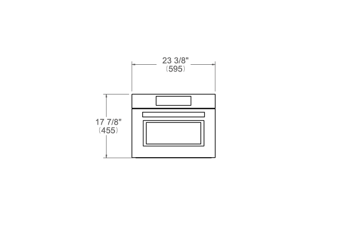 24 Convection Speed Oven | Bertazzoni
