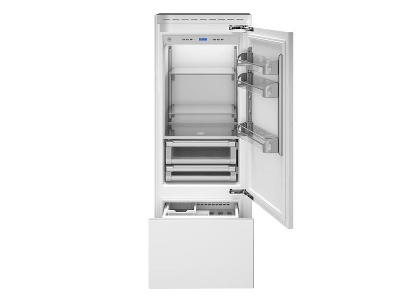 30 inch Built-In Bottom Mount Panel Ready | Bertazzoni - Stainless Steel