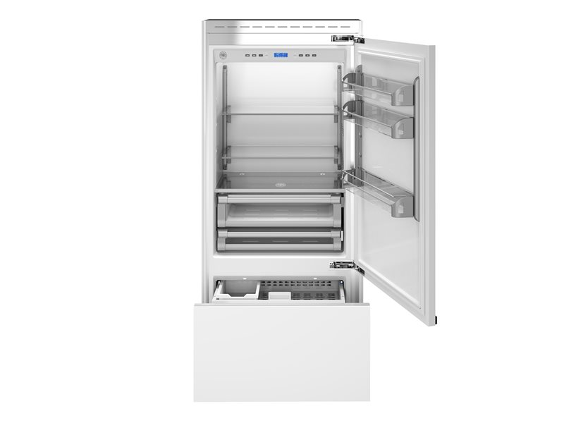 36 inch Built-In Bottom Mount Panel Ready | Bertazzoni - Stainless Steel
