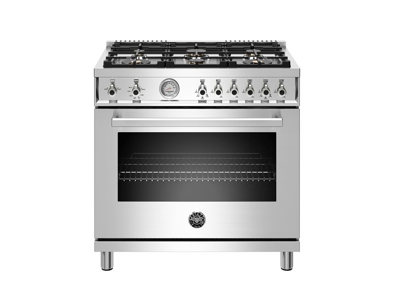 New 36 Inch 6 Burner, Gas Oven