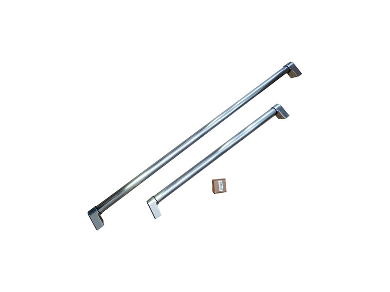 Handle Kit for 30 Built-in refrigerator | Bertazzoni - Stainless Steel