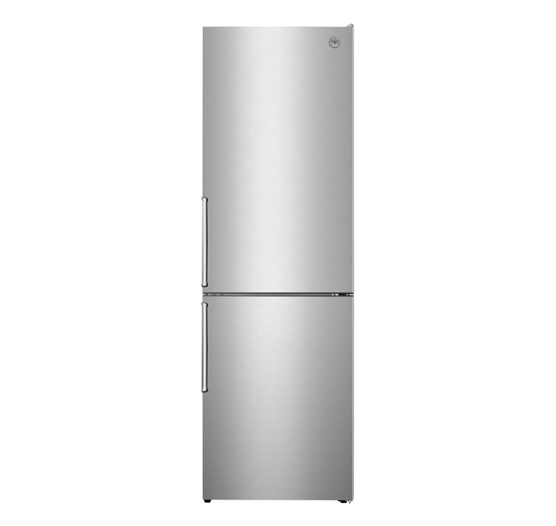 24 inch Freestanding Bottom Mount Refrigerator | Bertazzoni - Stainless Steel