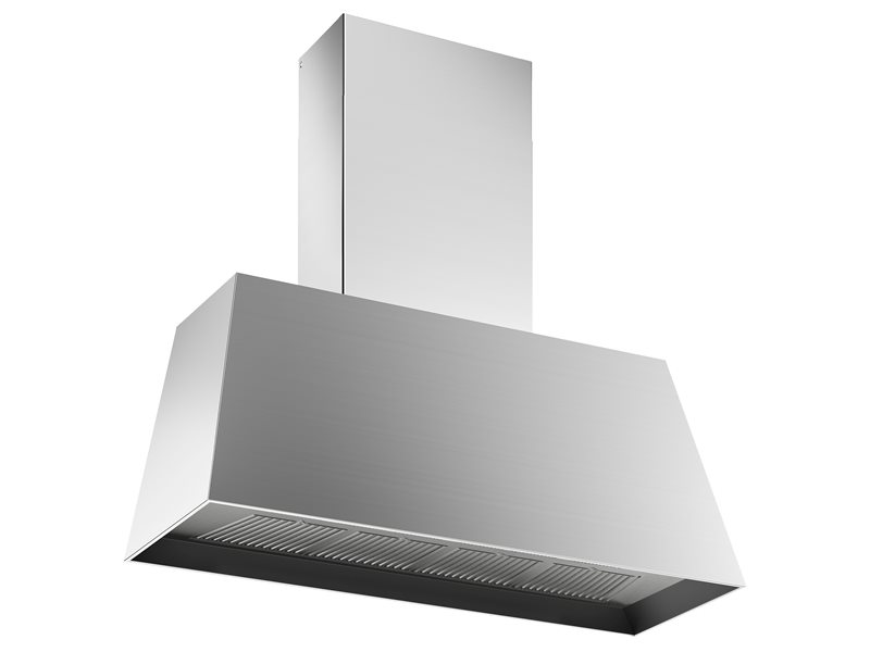 48'' Contemporary Canopy Hood, 1 motor 600 CFM | Bertazzoni - Stainless Steel