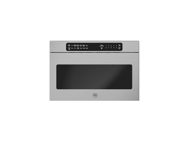 24 Microwave Drawer | Bertazzoni - Stainless Steel