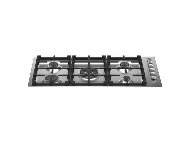 36 Drop-in Gas Cooktop 5 burners | Bertazzoni - Stainless Steel