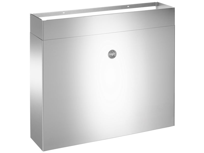 48 Full Width Duct Cover | Bertazzoni - Stainless