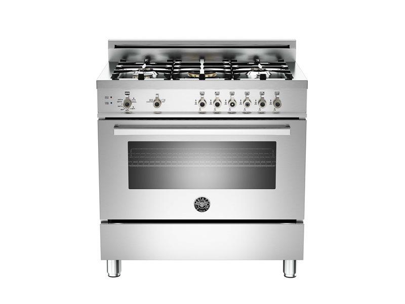 gas range. 36 5-Burner, Gas Oven Range