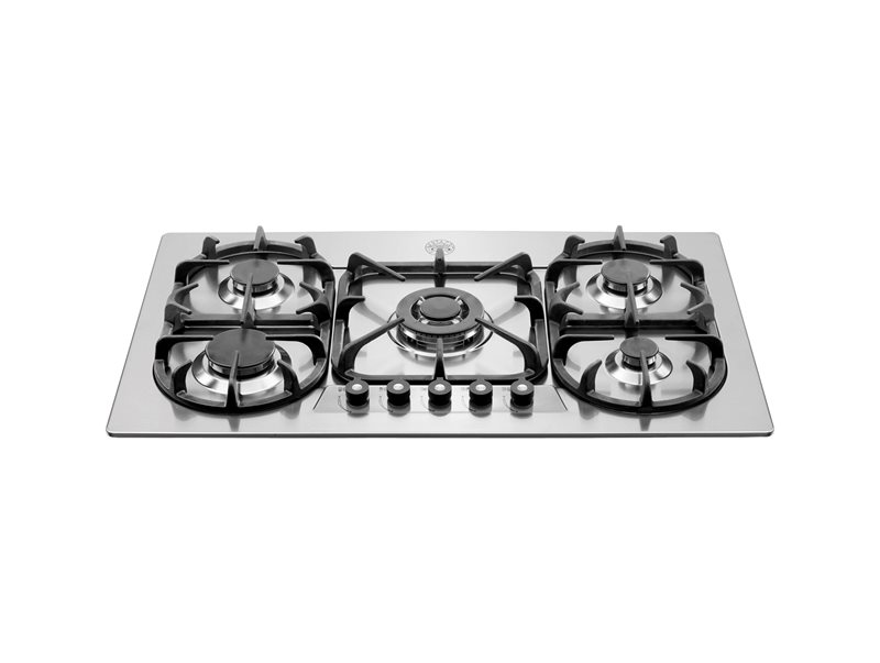 36 Cooktop 5-burner | Bertazzoni - Stainless