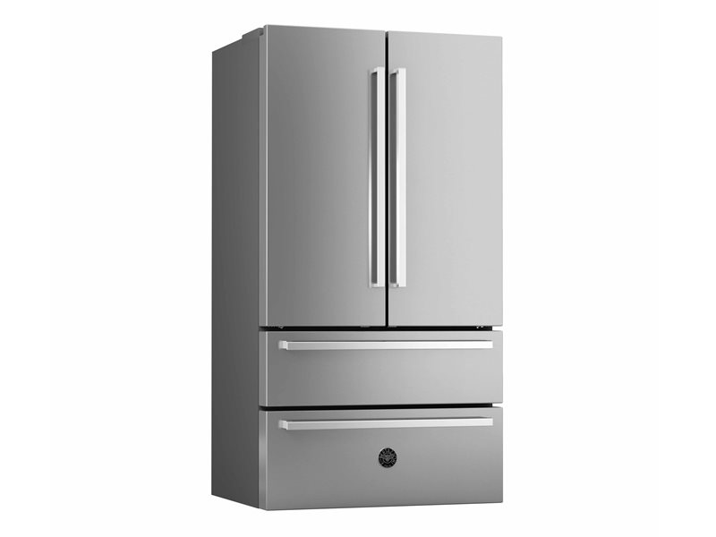 36 inch Freestanding French Door | Bertazzoni - Stainless Steel