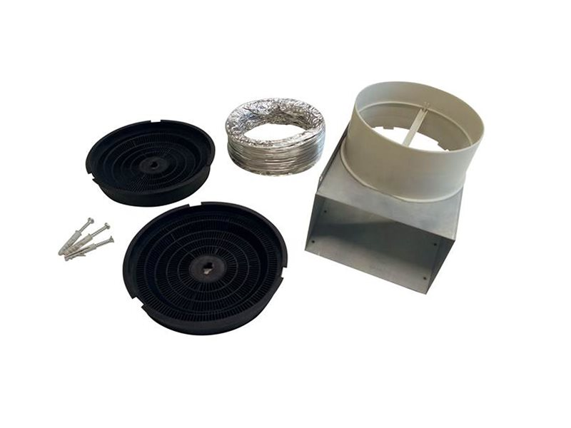 Recirculation Kit for model Hoods KU PRO/14, CON/14 | Bertazzoni - Stainless Steel