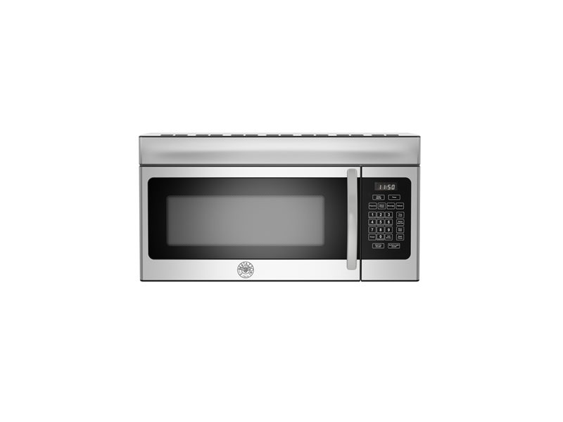 30 Over The Range Microwave  300 CFM | Bertazzoni - Stainless Steel