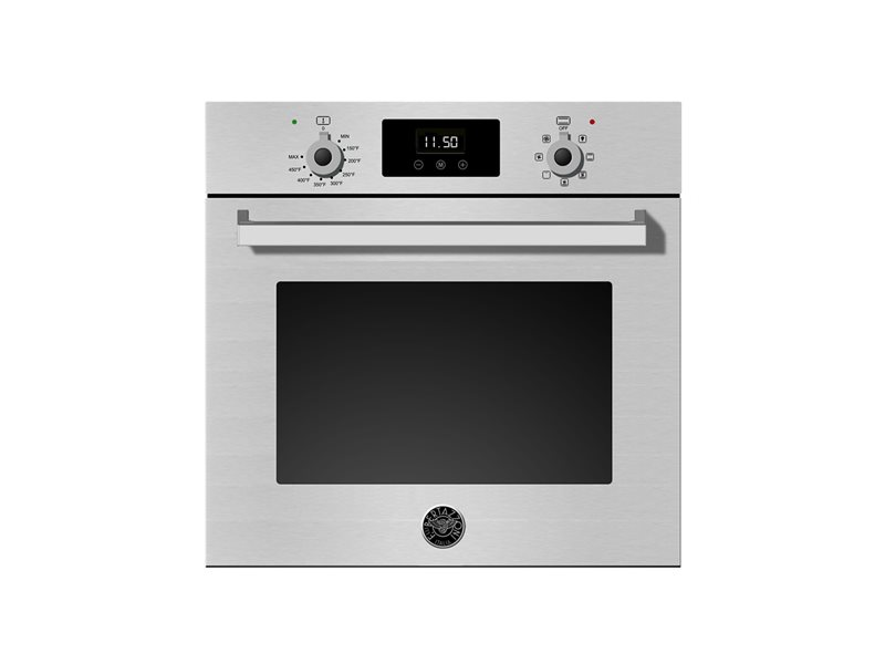 24 Single Convection Oven | Bertazzoni - Stainless
