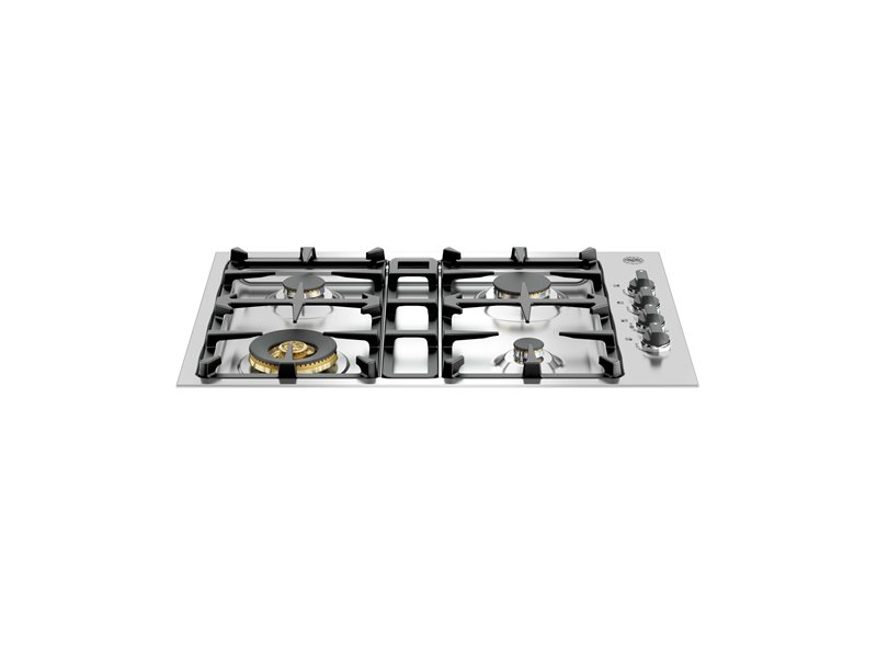 30 Drop-In Low Profile 4 Burners | Bertazzoni - Stainless