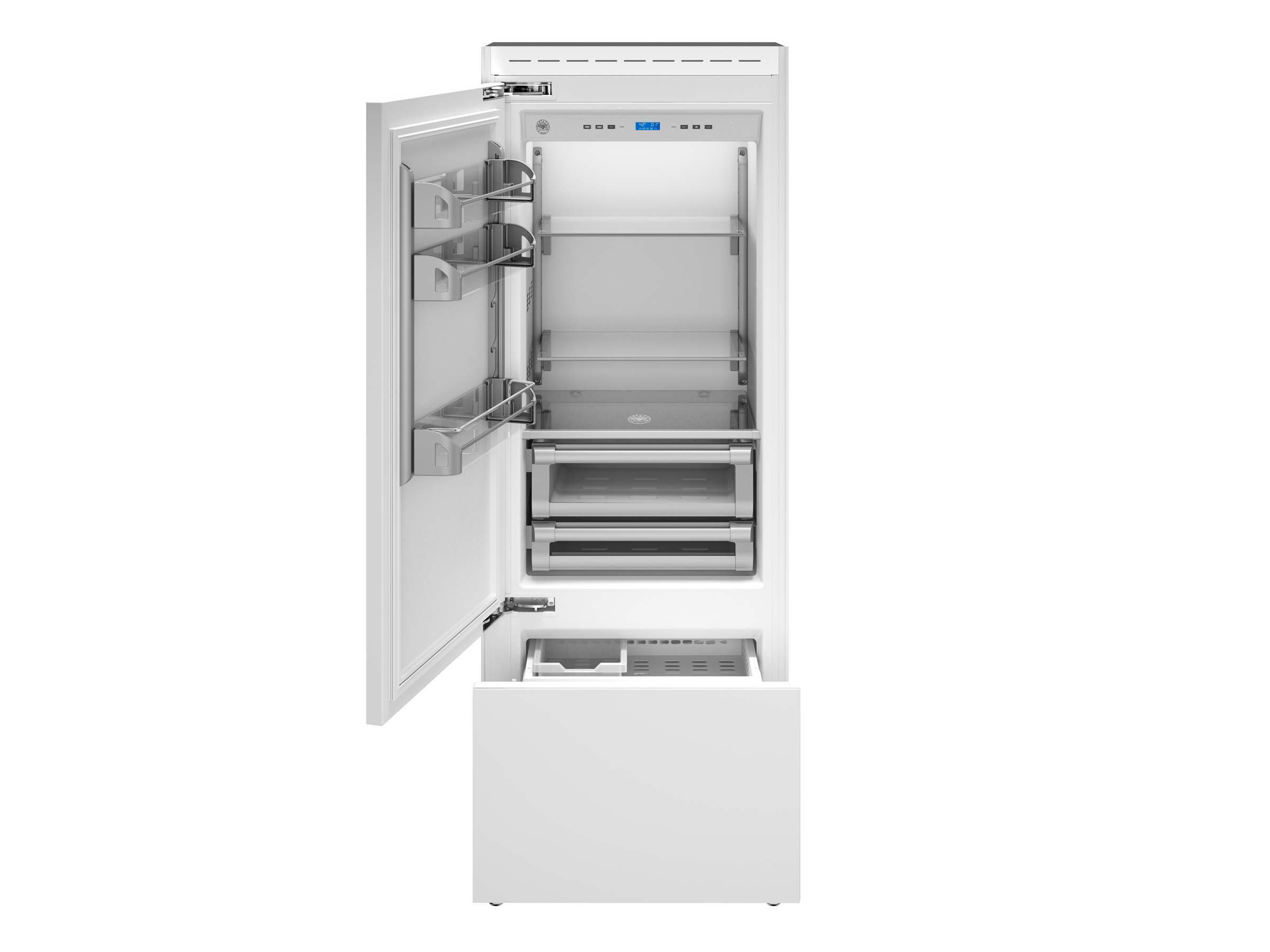 30 Built-In Bottom Mount Panel Ready | Bertazzoni - Stainless