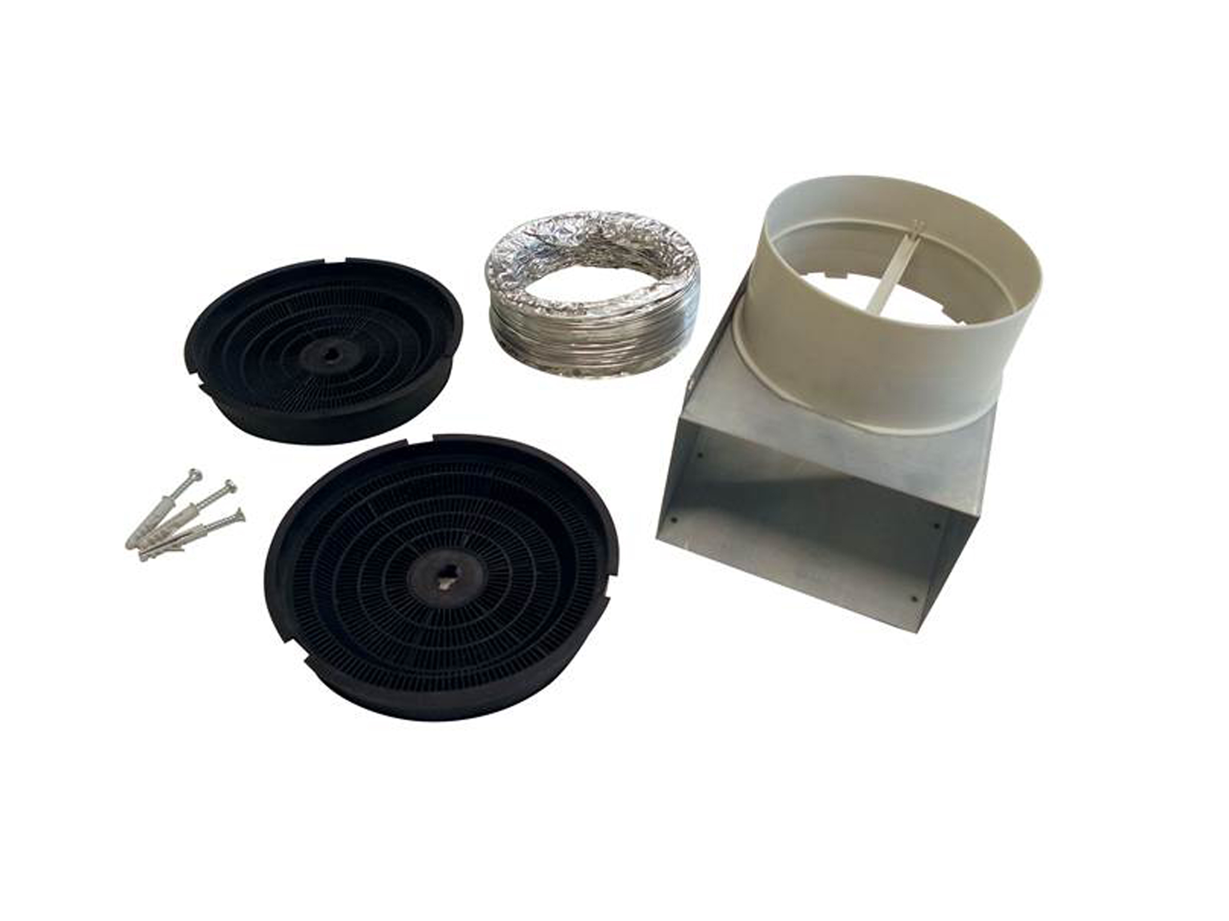 Recirculation Kit for model Hoods KU PRO/14, CON/14 and HER/14 | Bertazzoni - Stainless