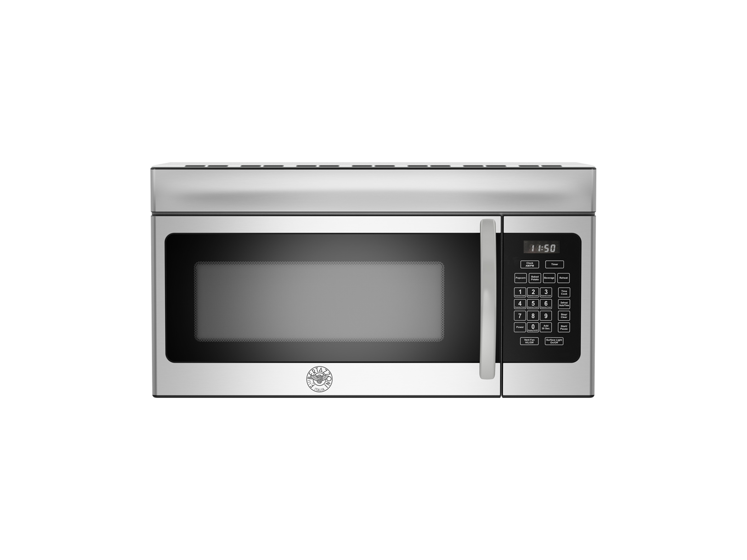 30 Over The Range Convection Microwave 300 CFM | Bertazzoni - Stainless