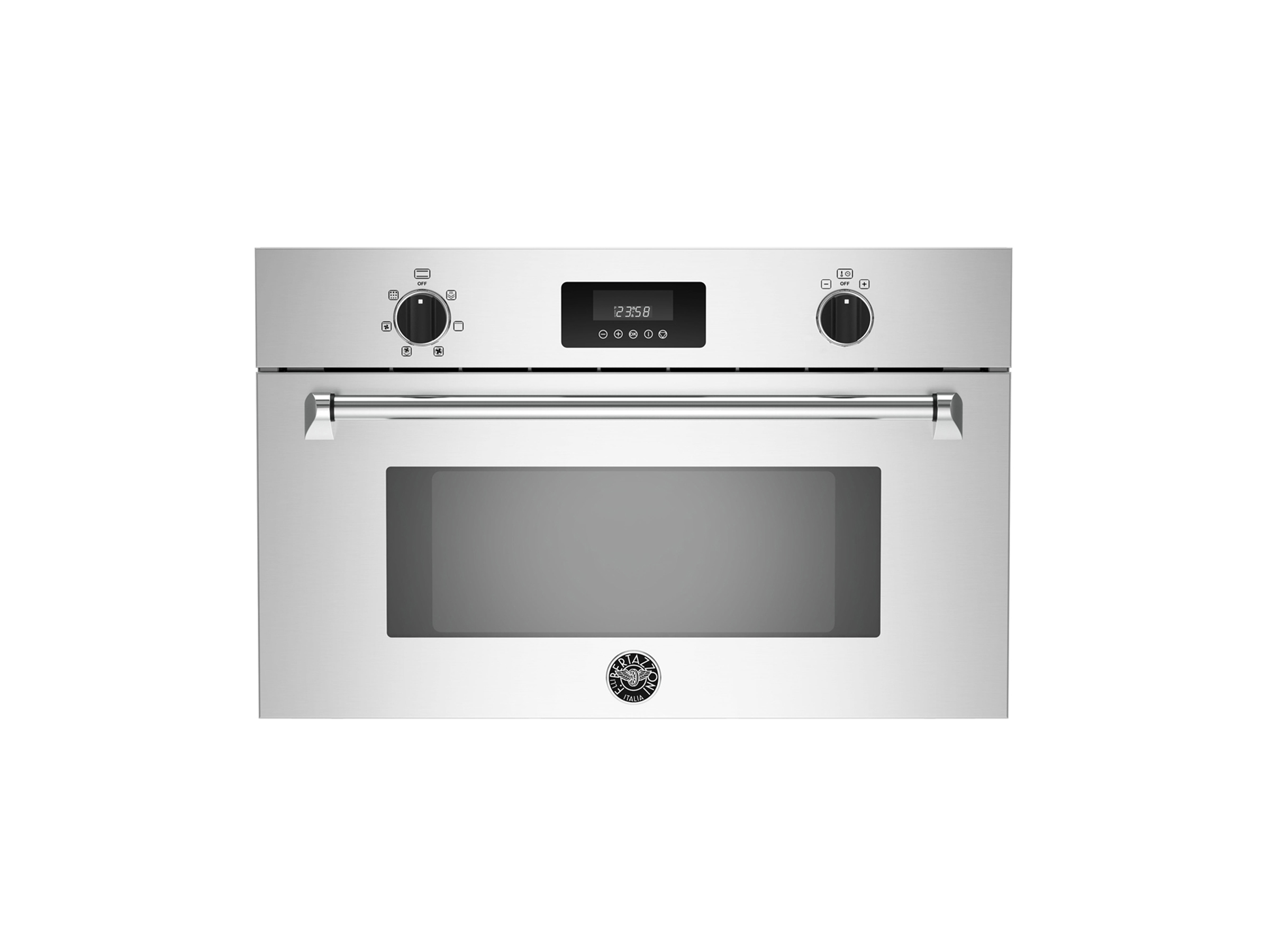 30 Convection Steam Oven | Bertazzoni - Stainless
