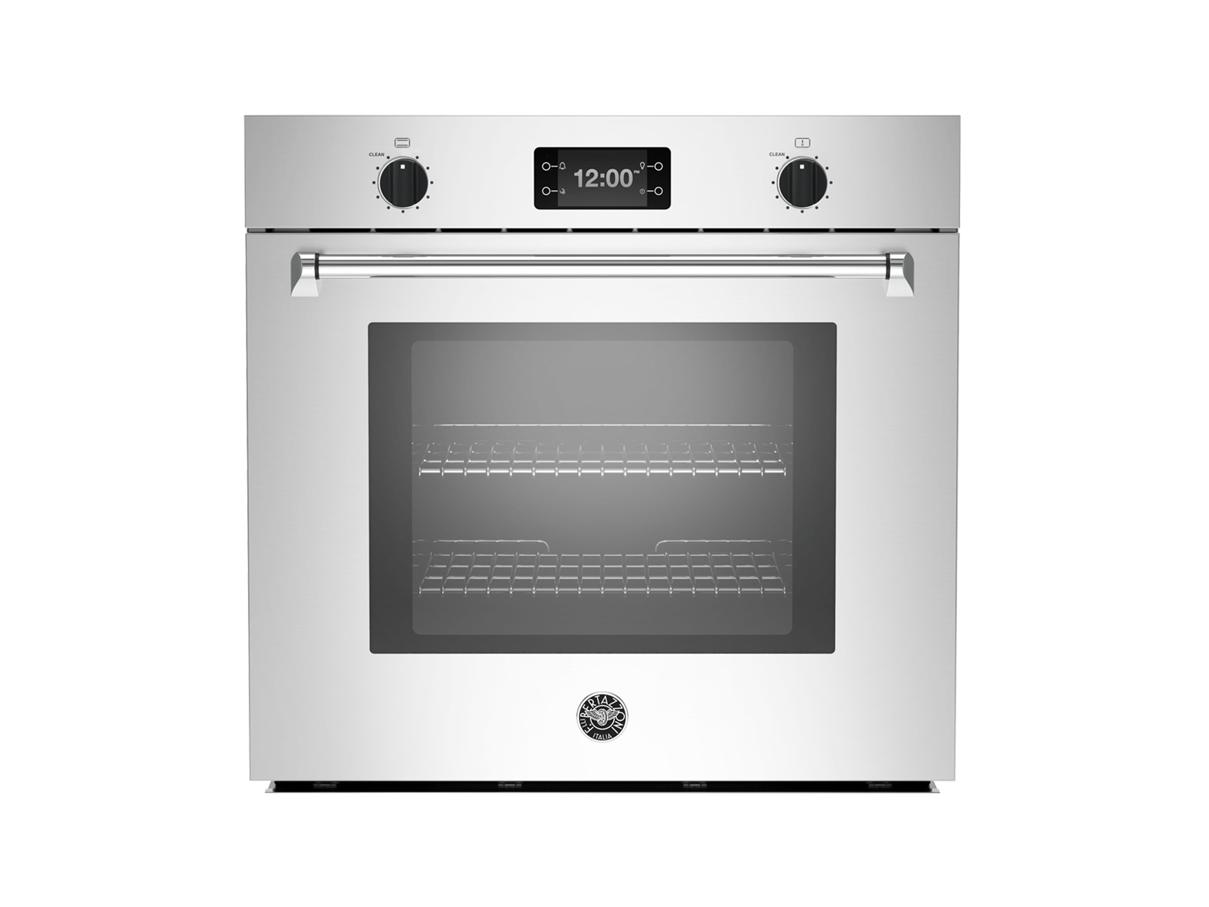30 single convection oven with assistant bertazzoni for Perfect bake pro system